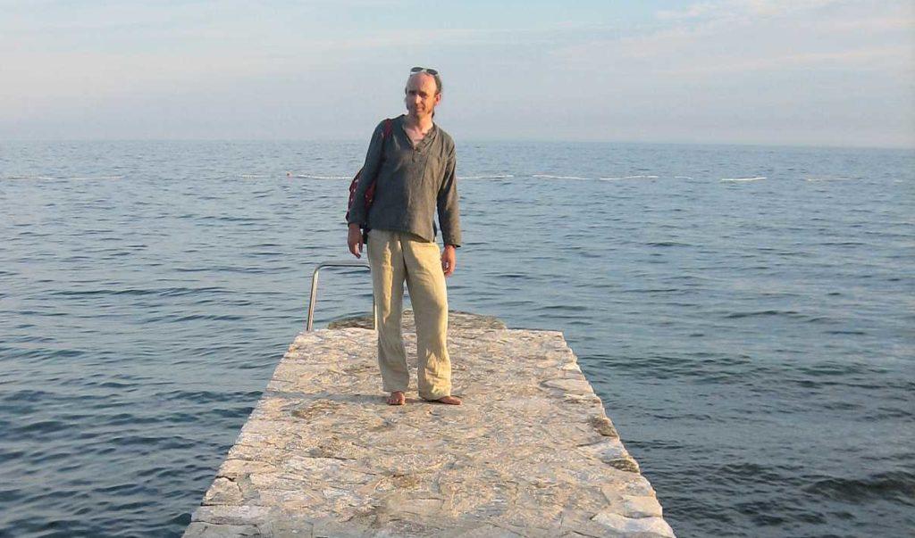 Am Meer - Schuhloser Urlaub in Novigrad, Kroatien
