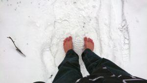 Schöner Schnee: frisch, weich und plattgetreten