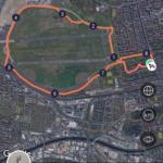 Laufstrecke ums Tempelhofer Feld