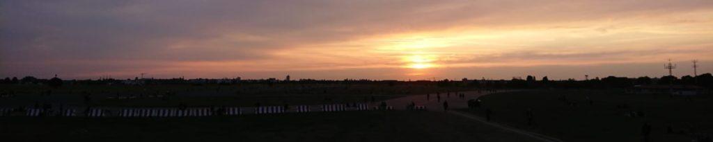 Tempelhofer Abendhimmel
